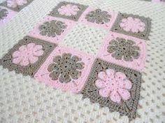 Resultado de imagen para modelos de colchas tejidas a crochet para bebe