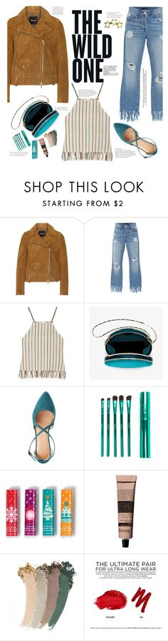 """The Wild One"" by tfashionspeaks ❤ liked on Polyvore featuring Madewell, 3x1, Miguelina, Charlotte Russe, Avon, Aesop, Gucci, Urban Decay and Tiffany & Co."
