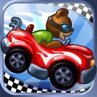Teddy Floppy Ear sur ipad : Teddy Floppy Ear –The Race est un jeu de course gratuit sur iPad, avec de charmants animaux en peluche.