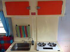 Multi-coloured Trillium kitchen.