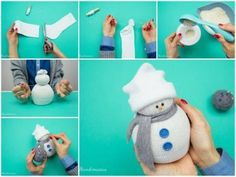 Good ideas for make snowman in winter days