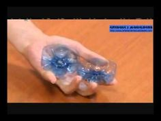 Manualidades con botellas plasticas (Lampara) (+playlist)