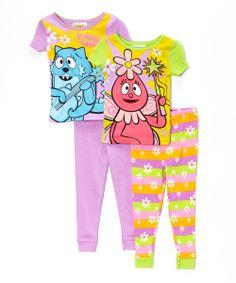 Purple & Yellow Yo Gabba Gabba Pajama Set - Toddler   Daily deals for moms, babies and kids