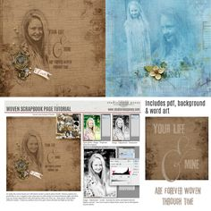 """lmurphy-woven-tutorial ✿ Join 7,500 others. Follow the Free Digital Scrapbook board for daily freebies. Visit GrannyEnchanted.Com for thousands of digital scrapbook freebies. ✿ """"Free Digital Scrapbook Board"""" URL: https://www.pinterest.com/sherylcsjohnson/free-digital-scrapbook/