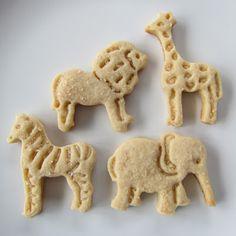 Clever Wren: Animal Cracker Cookies