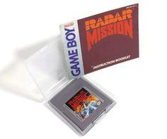 Radar Mission Nintendo Game Boy Original 1991 Retro by Original Nintendo, Military Operations, Retro Video Games, Game Boy, Nintendo Games, My Etsy Shop, The Originals, Boys, Handmade Gifts