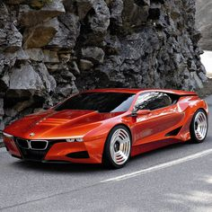 This one could rival, not replace but rival, my beloved Alfas...all I can say is - WOW. BMW M1 Hommage Concept