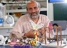 Toys from Trash - A wealth of Educational ideas for free! http://www.arvindguptatoys.com/toys.html#