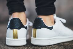 RITA ORA x ADIDAS STAN SMITH (LEGEND INK/GOLD) - Sneaker Freaker
