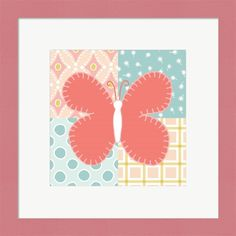 Beth Grove 'Baby Quilt Iii' Framed Wall Art