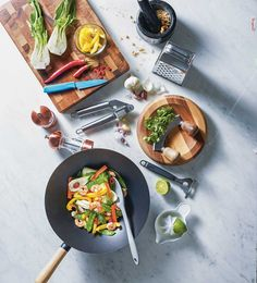 Wok at the ready! Get creative this season by experimenting with new spring and summer recipes