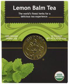 Lemon Balm Tea - Organic Herbs - 18 Bleach Free Tea Bags -- New and awesome product awaits you, Read it now  - Fresh Groceries