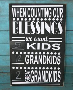 Grandparents Sign, Gift for Grandparents, Grandparent Gift, Christmas Gift, Home… Cute Gifts, Craft Gifts, Christmas Gifts, Bob Marley, Black Chalkboard Paint, Be Light, Free Message, Grandparents Day, Christmas Presents For Grandparents