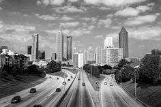 View of Downtown Atlanta from the Jackson Street Bridge (A0019838)