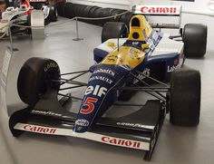 Williams Renault FW14B 1992 Nigel Mansell championship car. The greatest F1 car of all time.