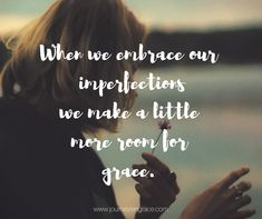 When our imperfectio