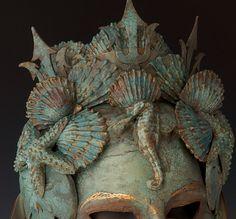 Amphitrite Neptune's Queen от TheArtOfTheMask на Etsy