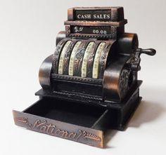 Vintage Cash Register Pencil Sharpener Works. by BanditsOutpost, $9.99