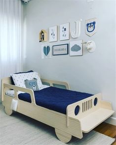 Three bedrooms for boys, made from mother to son, by Triplex Arquitetura # . - Three bedrooms for boys, made by mother to son, by Triplex Arquitetura - Bedroom Bed Design, Baby Bedroom, Bedroom Decor, Bedroom Ideas, Bedroom Boys, Trendy Bedroom, Bedroom Designs, Kids Bedroom Furniture, Baby Furniture