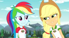 AppleDash Love! My Little Pony Movie, My Little Pony Pictures, Rainbow Dash And Soarin, Twilight Equestria Girl, My Little Pony Applejack, I Love You Girl, Equestrian Girls, Mlp Pony, Reference Images