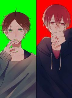 Fanart, Danganronpa Characters, Handsome Anime, Vocaloid, Geek Stuff, Guys, Pictures, Character Ideas, Rain