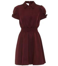 Valentino - Silk-blend dress
