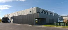 Architectural Design Photograph - Modern Factory Building Exterior by Jaak Nilson