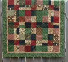 Your place to buy and sell all things handmade Backyard Fireplace, Green Quilt, Follow Your Heart, Wash N Dry, Easy Quilts, Quilting Ideas, Quilt Making, Cheryl, Red Green