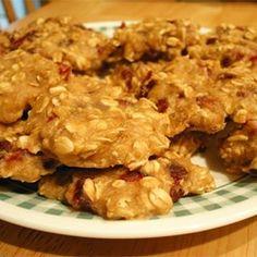Egg-Free Low-Fat Oatmeal Cookies - Substitute Flour Salt and Baking Soda for Kodiak Power Cake Mix.