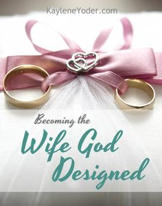 Being a wife is hard sometimes. This is such an encouraging article on becoming the wife God designed. Marriage Prayer, Biblical Marriage, Save My Marriage, Marriage And Family, Marriage Relationship, Happy Marriage, Marriage Advice, Relationship Therapy, Strong Marriage