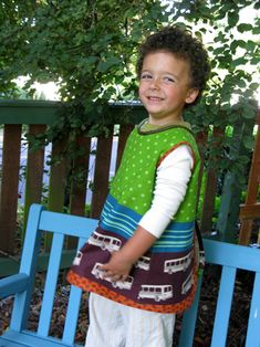 Back to School Art Smock Tutorial | Sew Mama Sew | Outstanding sewing, quilting, and needlework tutorials since 2005.