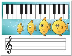 Fun teaching aids that help to develop musical skills and test knowledge through hands-on activities.
