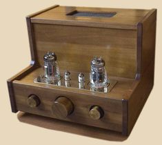 retro vintage modern hi-fi: Razin And Musatoff Audio Box, Valve Amplifier, Radio Design, Retro Vintage, Vintage Modern, Vacuum Tube, Audiophile, Speakers, Horns