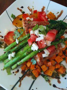 Grilled Salmon Fresca- Brio Copy Cat   umm... delicious!