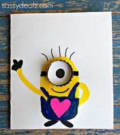 """""""You're One in a Minion"""" Mother's Day Card Idea - Sassy Dealz"""