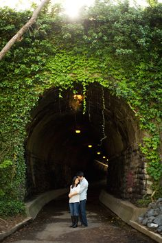 alexandriva-va-engagement-old-town-wilkes-tunnel. ALSO, good places to get photographed with your GREYHOUND.