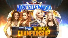Alexa Bliss put the SD Women's Champion on the line against Mickie James Natalya Carmella Becky Lynch and so on