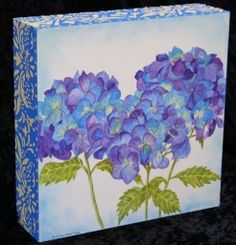 Three Hydrangea - The Art of Sharen Chatterton