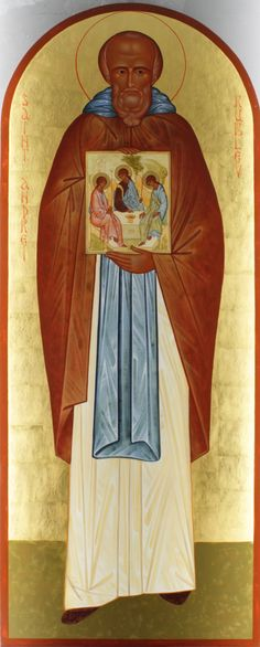 Andrei Rublev, Orthodox Icons, Christianity, Saints, Princess Zelda, Content, Pictures, Journey, Painting