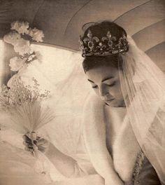 Margarita Gómez-Acebo, bride of King Simeon of Bulgaria.