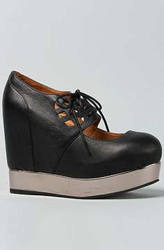 Jeffrey Campbell Shoe Cutout Maryjane in Black : Karmaloop.com - Global Concrete Culture
