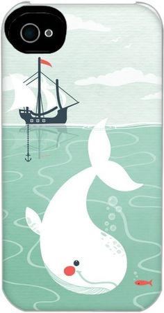 Whale Joy - Personalized iPhone Photo Case from Treat.com
