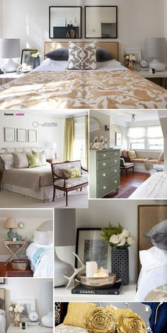 Love all these ideas for these different rooms.