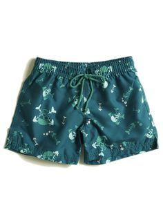 Skull & Crossbone Swim Shorts