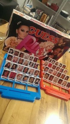 "Having guests over for game night? Drag out your boring old ""Guess Who"" game and transform it into ""Guess Ru!"" When your good Judys see the familiar faces of RuPaul, Michell… Drag Racing Quotes, Rupaul Drag Race Quotes, Rupaul Quotes, Rupaul Drag Queen, Trixie And Katya, Race Party, Adore Delano, Game Night, Memes"