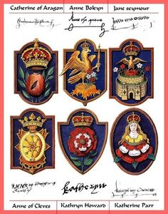 The wives badges - the-six-wives-of-henry-viii Fan Art