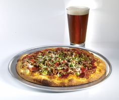 Pizza & beer.....nothing is better than this!