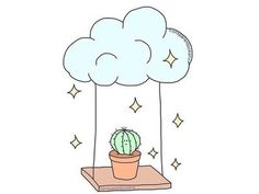 Good Images cactus plants drawing Strategies Succulents plus cactus will be the cactus drawing good images plants strategies succulents # Cloud Drawing, Form Drawing, Drawing Course, Cactus Drawing, Plant Drawing, Easy Drawings, Pencil Drawings, Mini Drawings, Best Portraits