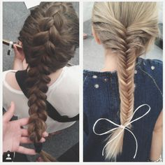 Holland braid and fishbraid for every hairstyles