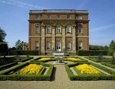 Clandon Park (National Trust) Guildford, Surrey. Most memorable first English country house I saw with its interiors designed by John Fowler.